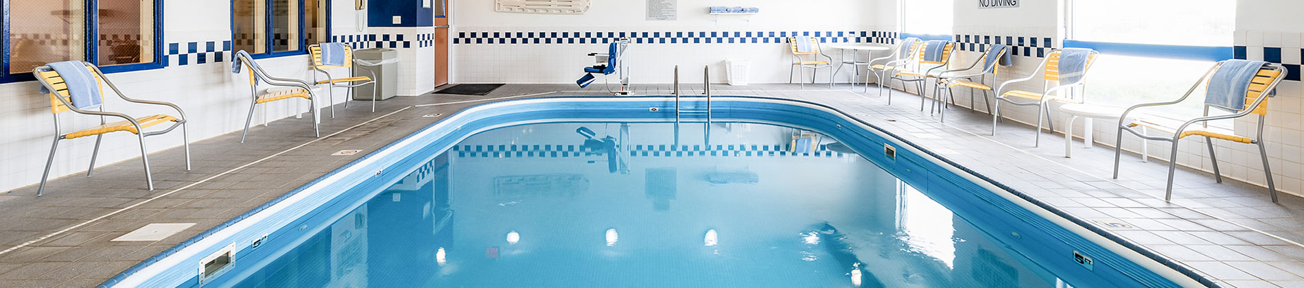 Pool at the Wingate Minot